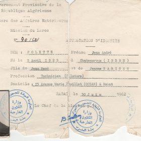 carte.identité.Jean.Algérie.1962-ArchivesPrivées-Polette