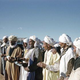 el aricha- arrivée des réfugiés du maroc- juin 62