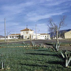 vue de la sortie de la sas sur le dispensaire- sedou-mars 62