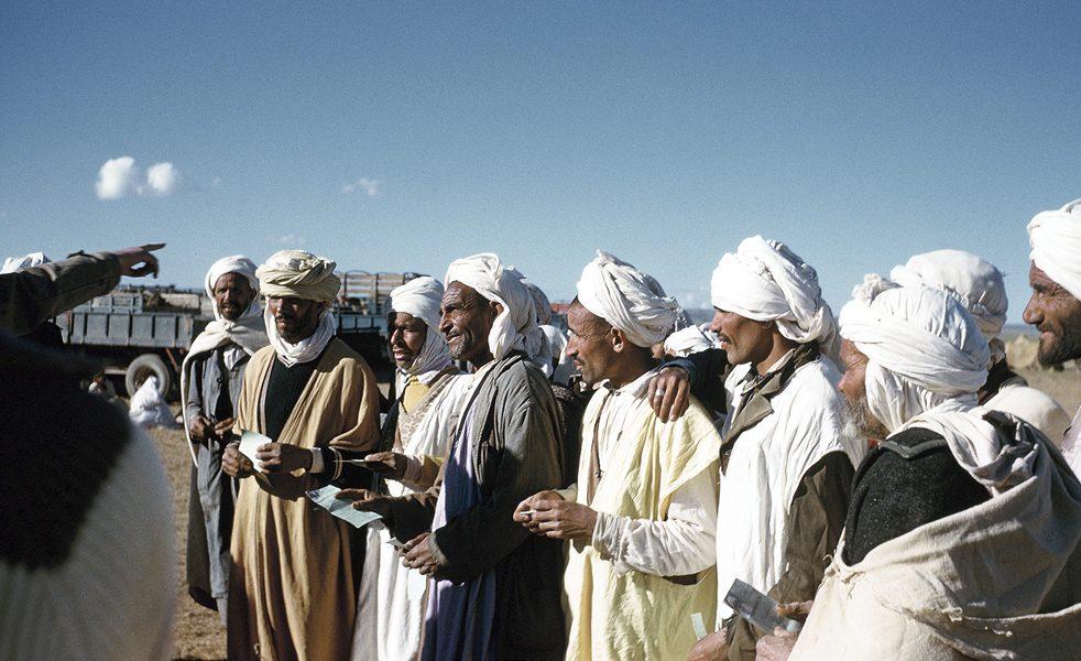 el-aricha-arrivee-des-refugies-du-maroc-juin-62-archives-alain-fau