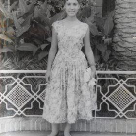 Josette vers 1955-1957