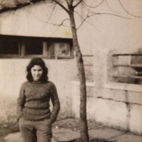 Josette: visite au camp d'internement de Lodi, 1er janvier 1957