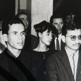 En Algérie indépendante (1962-1965), conférence du communiste Roger Garaudy
