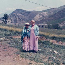 G.Sait.et.sa belle-mère-Zouina-Kherrata-Kabylie- Archives.privées-Saït