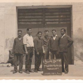 JeanPolette.au.Maroc.avec.ses.collègues-Casablanca-ArchivesPrivées-Polette