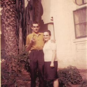 Marguerite et Franck Bernard-Oran(ArchivesPrivées-Bernard)