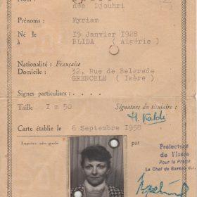 carte.identité.Mathé.sept58-ArchivesPrivées-Polette