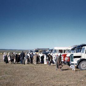 el aricha-réfugiés venant du maroc-juin 62
