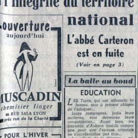 le progrès_19_octobre_1958_p1_1
