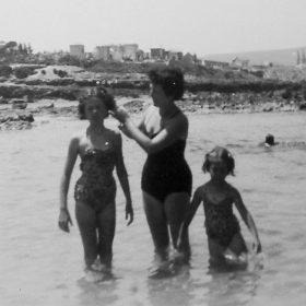 1953 plage de philippeville- arch-privées-annie-munier