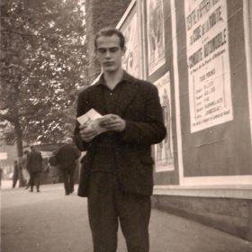 Michel Hanniet en 1961